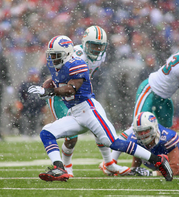 C. J. Spiller will get plenty of touches against Miami Dolphins.