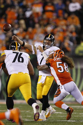 The Bengals pass rush will be a key element of this game.