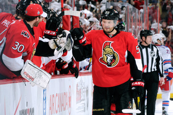 Sergei Gonchar of the Ottawa Senators.