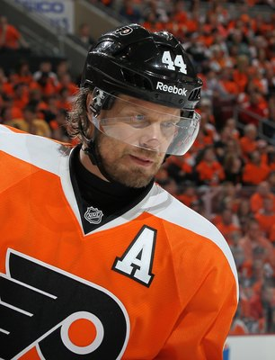 Kimmo Timonen of the Philadelphia Flyers.