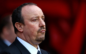Rafa Benitez is the current Chelsea boss, but how long will he last?