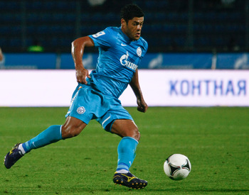 Zenit striker Hulk is reportedly unsettled in Russia
