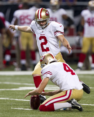 David Akers made two of his three field-goal attempts.