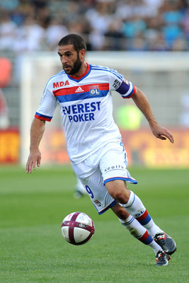 Lisandro Lopez-one of a few recognised names left at Lyon