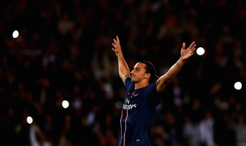 Ibrahimovic was yet againt the difference between PSG and their opponents