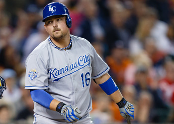 Billy Butler put on a firework display in '12.