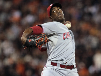 Aroldis Chapman was an ace out of the bullpen.