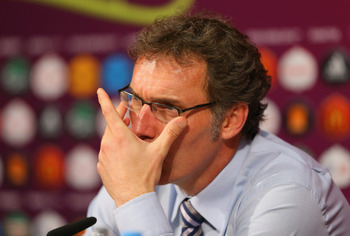 Laurent Blanc is rumoured to be looking for a Premier League position.