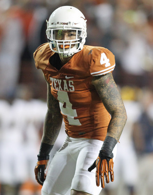 Texas safety Kenny Vaccaro