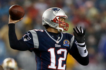 Tom Brady threw for 443 yards against the 49ers' defense.