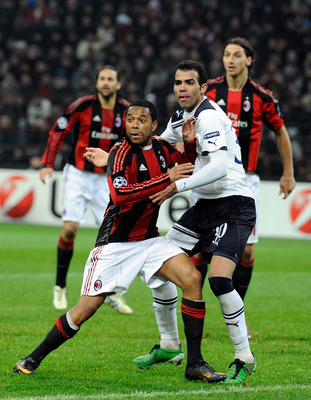 Sandro in action against AC Milan back in 2011.