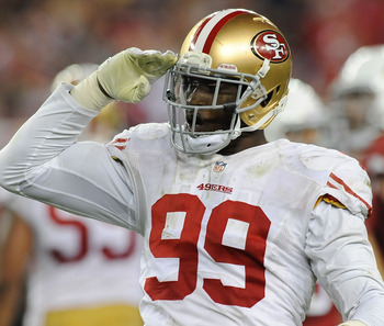 Aldon Smith continues to show his dominance each week.