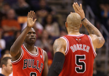 Luol Deng and Carlos Boozer are making things work in Chicago without Derrick Rose.