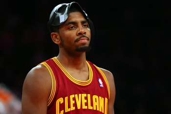 Kyrie Irving's face says it all for Cleveland.