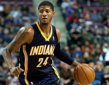 Paul George is a bright young star for Indiana.