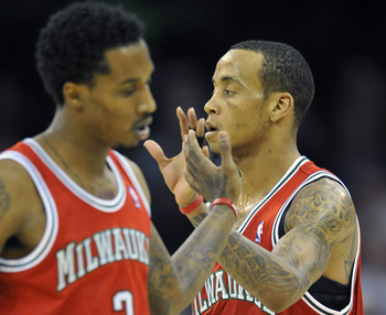 Brandon Jennings and Monta Ellis have the Milwaukee Bucks hanging on.