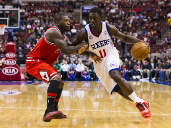 Jrue Holiday has lifted the 76ers.