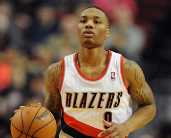 Damian Lillard is a top candidate for Rookie of the Year honors.