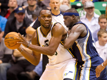 Al Jefferson and the Utah Jazz are floating around the .500 mark.