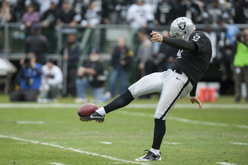 The Raiders will have to punt on this season.