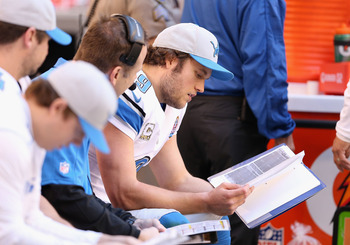 Back to the drawing board for Stafford and the Lions.