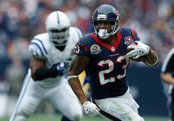 Arian Foster and the Texans wrapped up their division in Week 15.