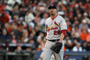 Kyle Lohse went 16-3 with the St. Louis Cardinals last season with a 2.86 ERA.