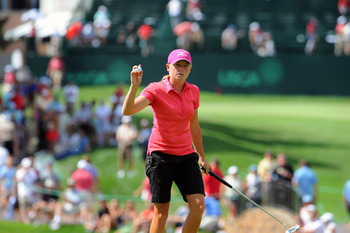Stacy Lewis is passionate about the charities she supports.