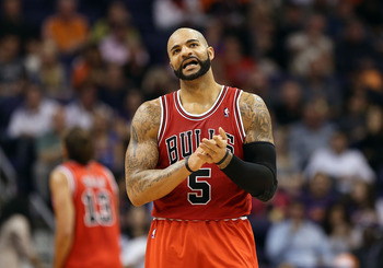 Carlos Boozer has struggled to make a significant impact in Chicago.