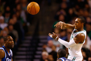Rajon Rondo has established himself as the leader of the Celtics.
