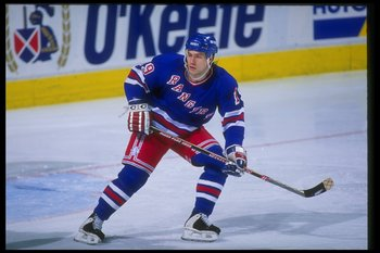 "Nick Kypreos, one of the 1994 Rangers' famous ""black aces"""