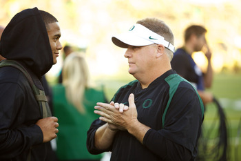 Thomas Tyner Chats With Chip Kelly