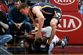 Whatever this man did to Ben Hansbrough, it was probably really bad.