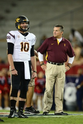 Taylor Kelly and Todd Graham