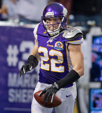 Harrison Smith has proven himself a playmaker as a rookie. He has two interceptions returned for touchdowns.