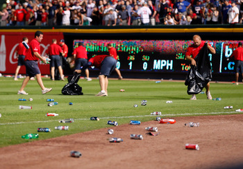 St. Louis Cardinals fans probably think the infield fly rule is fair as hell.