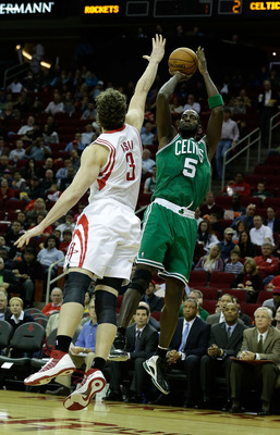 Once a dominant low-post threat, Garnett has been similarly unstoppable from the perimeter.