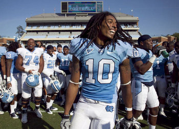 Tre Boston combines personality with athleticism. (Getty Images)