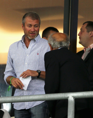 KIEV, UKRAINE - JUNE 24:  Roman Abramovich ahead of the UEFA EURO 2012 quarter final match between England and Italy at The Olympic Stadium on June 24, 2012 in Kiev, Ukraine.  (Photo by Scott Heavey/Getty Images)