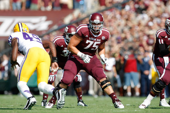 Jake Matthews could reunite with former A&M coach Mike Sherman and quarterback Ryan Tannehill.