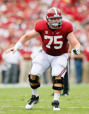 Barrett Jones is the most versatile interior offensive lineman in the draft, and could be the center of the future in Indianapolis.