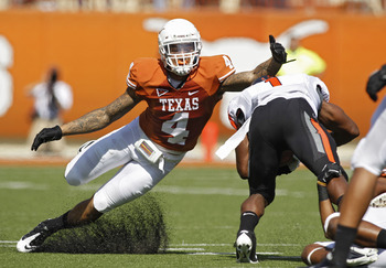 Kenny Vaccaro could replace DaShon Goldson or Donte Whitner in San Francisco.