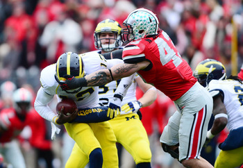 Devin Gardner sparked Michigan's offense after the injury to Denard Robinson.