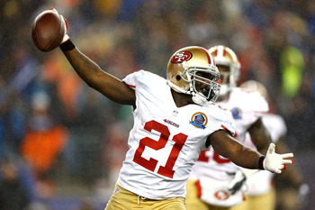 Frank Gore is enjoying another phenomenal season as the 49ers' primary running back.