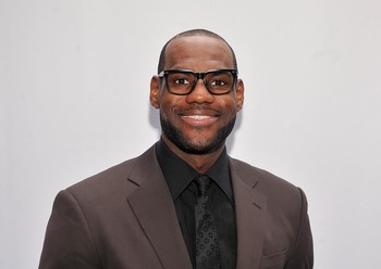 LeBron James is a genetic freak but he got skipped on the good-hair genes.