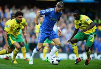 In-form Chelsea striker Fernando Torres will be a threat to Norwich on Boxing Day