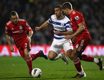 QPR striker Adel Taarabt is in great form ahead of Liverpool's trip to Loftus Road on 30 December