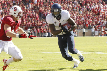 Arizona wideout Dan Buckner, leaving as a senior, leaves a hole in the 'Cats wide receiver position.