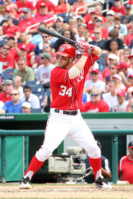 Harper won the NL Rookie of the Year award with 16 first-place votes.