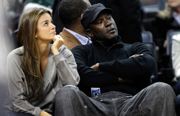 Jordan watched many Bobcats games in dismay.